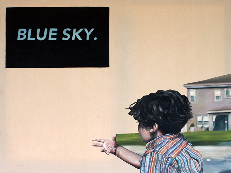 'Untitled Blue Sky' Steven Fleix-Jager Azusa Pacific University Best in Show