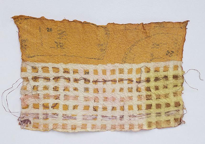 'Joomchi Weaving' by Aleya Lanteigne, San Diego State University
