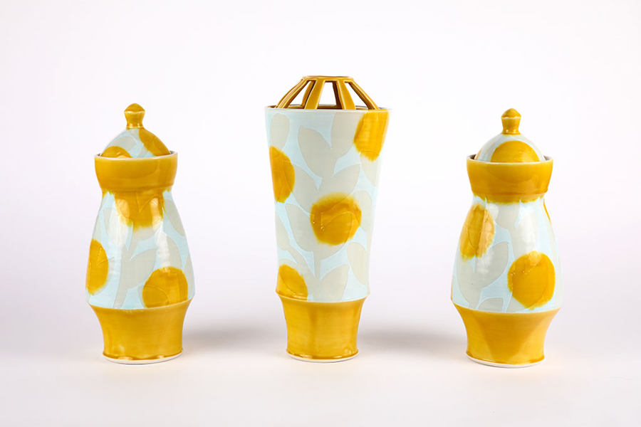 'Yellow Garniture' by Alexandra Saunders Louisiana State University