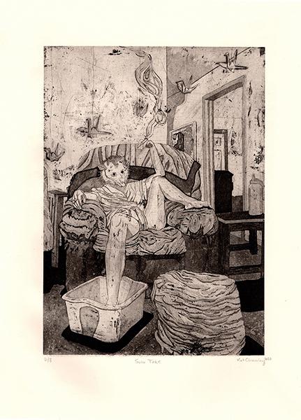 'Solo Toke' by Kathleen Charnley, Edinboro University of Pennsylvania