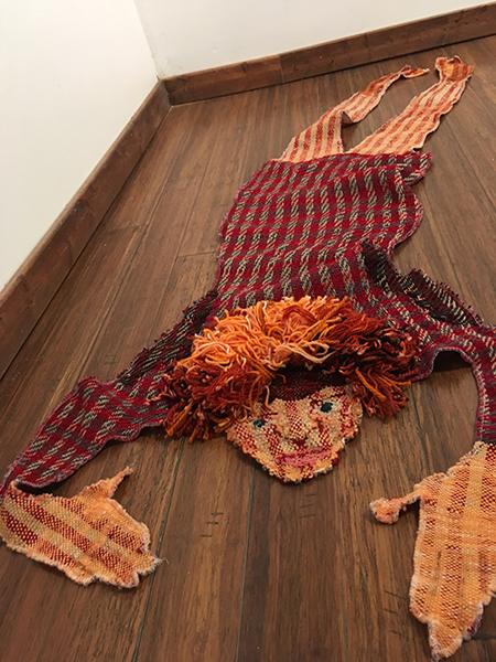 'Self-Portrait Skin Rug' by Elise Martin, Wayne State University