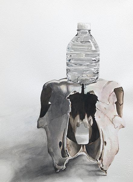'Self Portrait of Complicity' by Sara Drescher, Texas Tech University