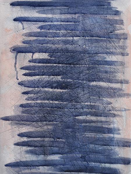 'Stripes 1' by Brenda Osta, Lesley University, Jurors Choice